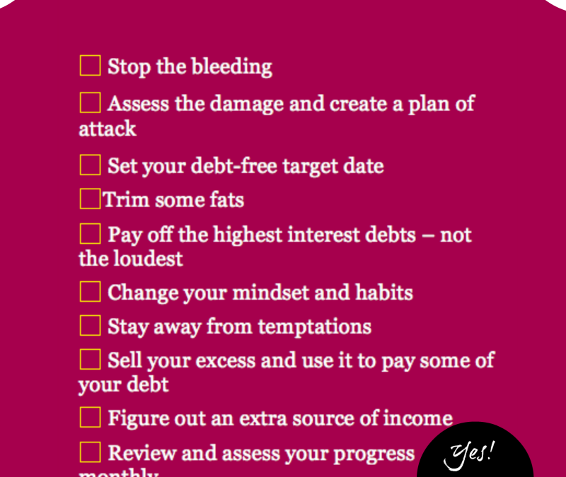Financial Fitness In 10 Easy Steps